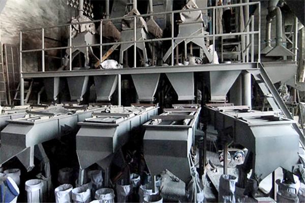 刚玉生产工艺-粒度筛分设备